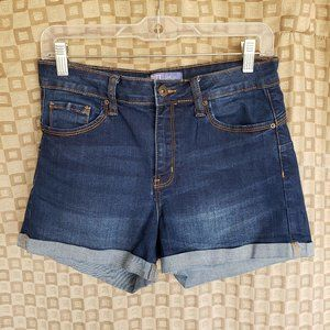 Butt I Love You Stretch Jean Shorts Med